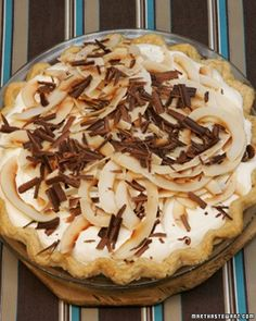 An American classic with an original topping: Fluffy meringue replaces traditional whipped cream on this delicious pie.