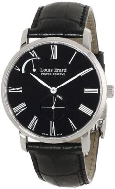 Louis Erard Men's 53230AA12.BDC29 Excellence Analog Display Mechanical Hand Wind Black Watch by Louis Erard -- Awesome products selected by Anna Churchill