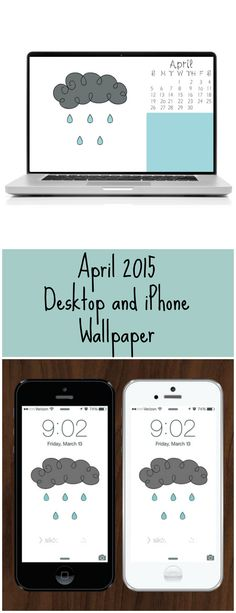 April 2015 Desktop and iPhone Wallpaper