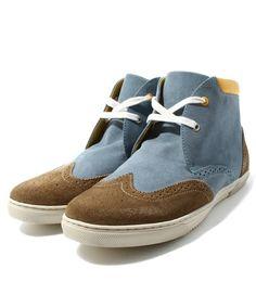 Shoe BAR select(シューバーセレクト)のINCH/IC1311DM WING HI(スニーカー)|ライトブルー