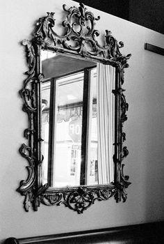 Mirror in Cafe du Soleil, San Francisco, California.  ©2014 David W. Sumner 041714A-10 by David W. Sumner on 500px