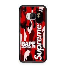 now available A Bathing Ape Sup... on our store check it out here! http://www.comerch.com/products/a-bathing-ape-supreme-red-htc-one-m9-case-yum8798?utm_campaign=social_autopilot&utm_source=pin&utm_medium=pin