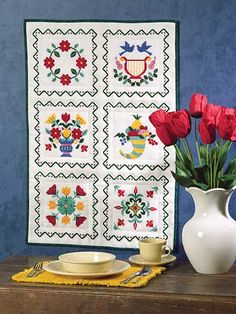 Quilting - Baltimore Album Cross-Stitch Quilt - #EQ00721