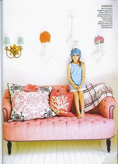 tufted pinkness