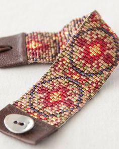 CHAN LUU cuff beads bracelet
