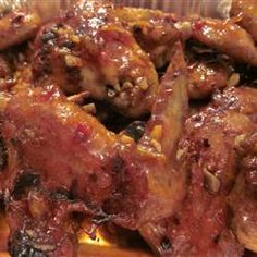 Spicy Orange Chicken Wing Sauce Recipe