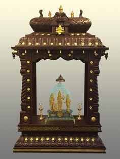 Temple Room, Home Temple, Pooja Room Door Design, Interior Design Living Room, Temple Design For Home, Mandir Design, Pooja Mandir, Copper Decor, Puja Room