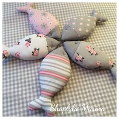 Тетушка Матильда Sewing Toys, Sewing Crafts, Sewing Projects, Fish Crafts, Cute Crafts, Fabric Fish, Fish Template, Tilda Toy, Fish Patterns