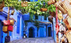 Morocco Art & Architecture . Chefchaouen