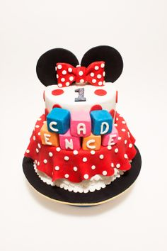 Minnie Mouse Cake, Disney Cake