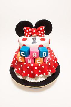 Minnie Mouse Cake, Disney Cake