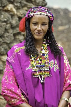 Africa | Colours of Harar. 'Argoba.  Kouroumi.  Ethiopia | © Georges Courreges.