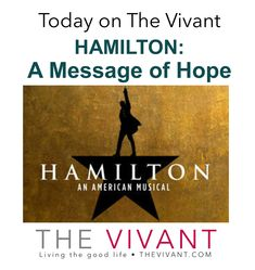 Message Of Hope, Fictional World, Lin Manuel Miranda, Change Is Good, Hamilton, In The Heights, Life Is Good, Meant To Be, Musicals