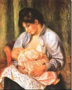 Auguste Renoir  Mère et enfant