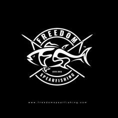 Freelance - Freedom Spearfishing brand logo by heARTwork