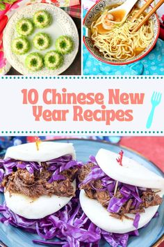 10 Chinese New Year Recipes - Celebrate the Year of the Ox with these 10 Recipes from China & Southeast Asia - Appetizers, Main Course & Dessert recipes to plan your entire Chinese New Year meal! #chinesenewyear #lunarfestival #chinesefood #asianfood #yearoftheox #worldcuisine