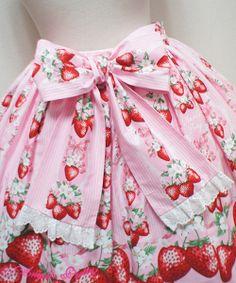 Berry Garden Skirt - Red