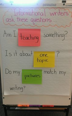 First grade informational writing anchor chart Expository Writing, Informational Writing, Writing Words, Writing Lessons, Sentence Writing, Fiction Writing, Writing Process, Writing Ideas, Kindergarten Writing