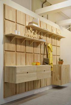 Yes, oui si modular modern shelving
