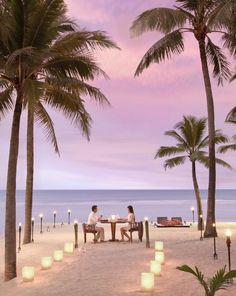 Dining By Design, Anantara Hua Hin Resort & Spa, Hua Hin Beach, Thailand.