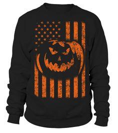 halloween american flag T-Shirt  Funny Halloween T-shirt, Best Halloween T-shirt
