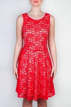 Figaro φόρεμα δαντέλα | FashionBay.gr