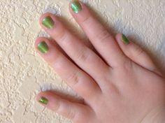 My fav nail polish it smells like key lime pie