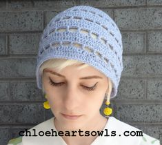 1920's Crochet - Bluebell Cloche