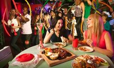Groupon - Mexican-American Food for Two or Four at Señor Frog's (Up to 45% Off) in Flamingo / Lummus. Groupon deal price: $17