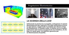 Calcolo illuminotecnico su progetto. Servizio gratuito! Lighting planning calculation on a specific project. Free service!