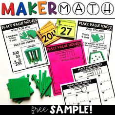 FREE Maker Math Plac