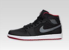 080852db5ad Air Jordan 1 Mid Nba Uniforms, Jordan Model, Jordan 1 Mid, Air Jordans