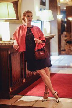 Jacket,dress/Zuzana Vesela shoes/Salamander Purse/Elega Bracelet/Trollbeads