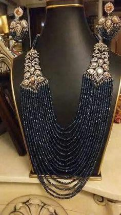 Jew Royal Jewelry, India Jewelry, Pearl Jewelry, Jewelry Sets, Beaded Jewelry, Fine Jewelry, Beaded Necklace, Diamond Jewelry, Bling