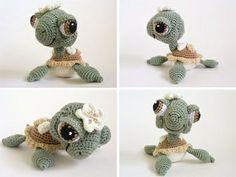 cutest crochet baby sea turtle ever!.