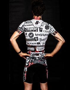 Punk Kits by  Alex Ostroy   Cycling jersey
