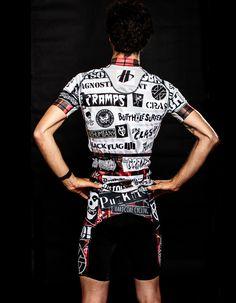 Punk Kits by  Alex Ostroy   Cycling jersey