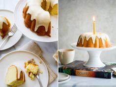 Insanely Moist Lemon Bundt Pound Cake with a lemon glazed that's absorb into the cake and Vanilla Icing drizzle on top...