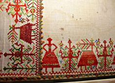 Folk Embroidery, Benaki Museum, Athens, Greece