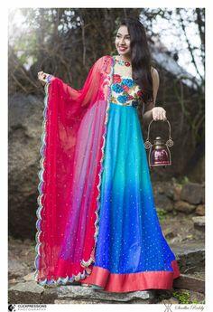 Anarkali designed by Sindhu Reddy ***Sindhu Reddy Design Studio***
