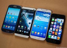 Comparing flagship smartphones- Galaxy S4 v. iPhone 5