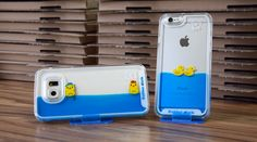 Wie süß! Putzige Enten Hüllen für das Samsung Galaxy und Apple iPhone von PhoneNatic.de