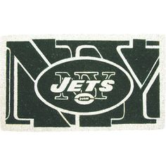 Root for your favorite NFL team with this charming doormat.  Product: DoormatConstruction Material: Coconut coir...