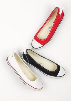 Converse Dainty Ballerina Shoe. Love these soooo much