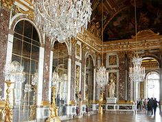 Of course...the Hall of Mirrors in Versailles