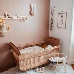 baby room, baby cot, nursery room, Source by fawn_design