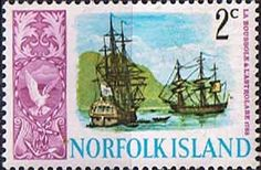 Norfolk Island 1967 Ships Fine Mint SG 78 Scott 101 Other European and British Commonwealth Stamps HERE!
