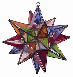 Moravian Star I would so like to add this to my collection of stars and stained glass