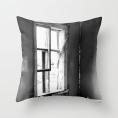 Lights along the road Throw Pillow by Hanne Jørgensen - $20.00