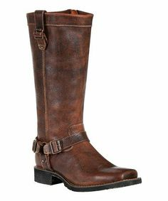 f781f7b68f3 Torched cognac rider boots... Reminds me of Makayla